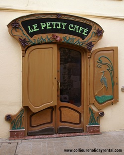 Petit Cafe in Collioure