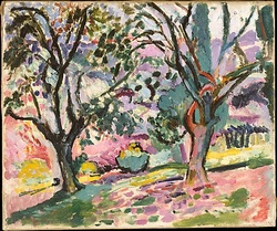 Matisse Promenade Among the Olives