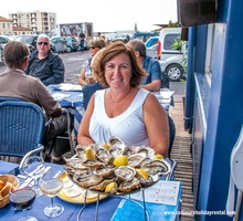 Oysters at La Mediterraneenne in Sete