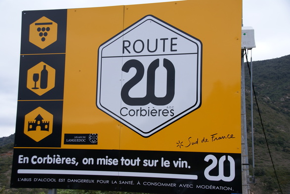 Route 20 Road Sign